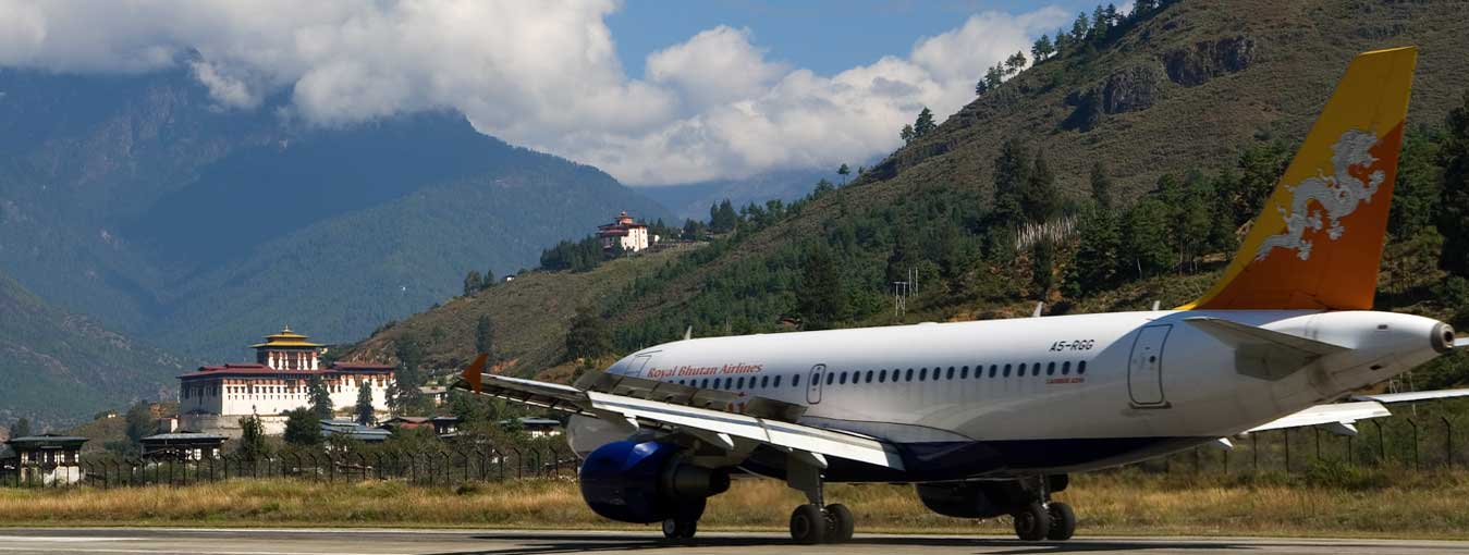 Bhutan Tour via Paro Airport for Indian Traveler