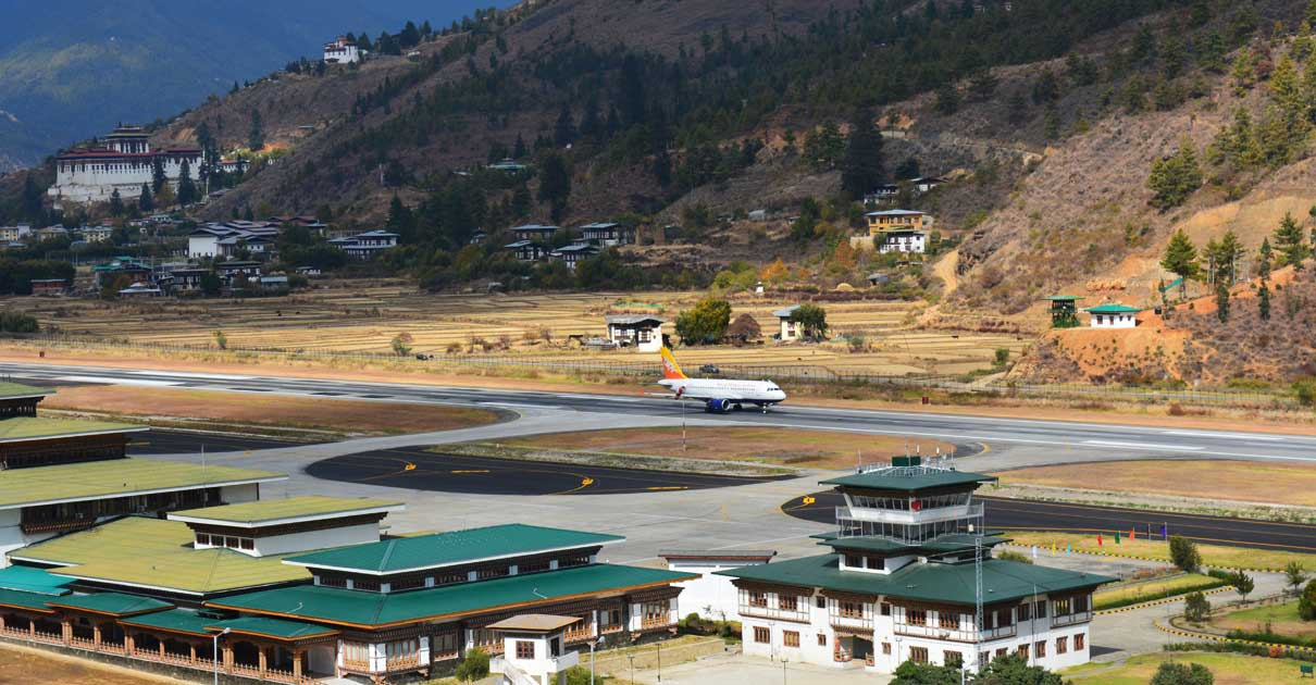 Bhutan Flight Schedule 2020